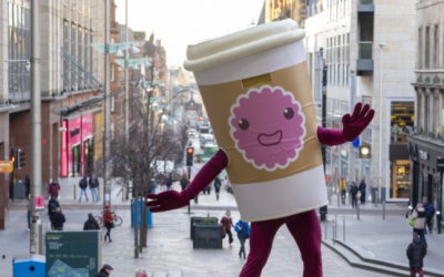 Scotland's first coffee cup recycling scheme launched in Glasgow