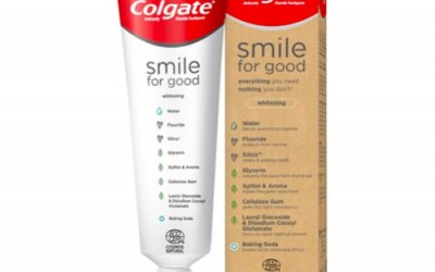 Colgate launches recyclable plastic toothpaste tube