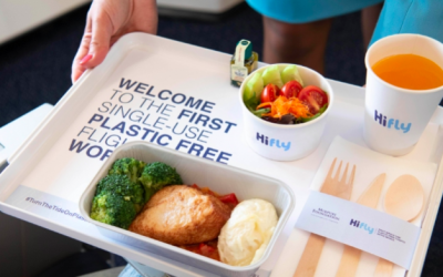 Hi Fly goes plastic-free on all flights