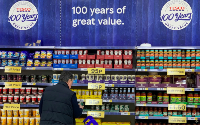 Tesco to ditch plastic-wrap for multipack tins