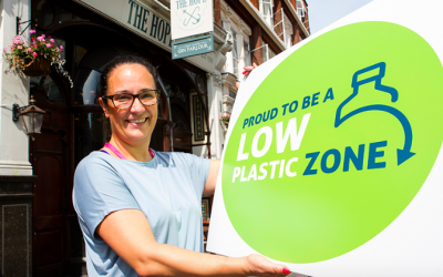 "First ""low plastic zone'"" launches in London"