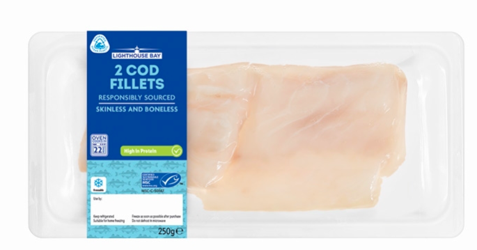 Lidl to use 'ocean-bound' plastics in seafood packaging