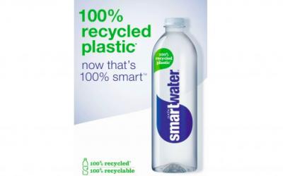 Coca-Cola GB unveils 100% rPET GLACÉAU Smartwater bottles