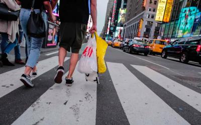 New York's Plastic Bag Ban Begins