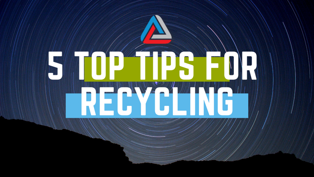 5 top tips for plastic recycling